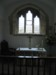 east window and altar
