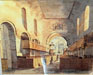 painting of old_interior before restoration