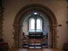 Reset genuine Early Norman chancel arch